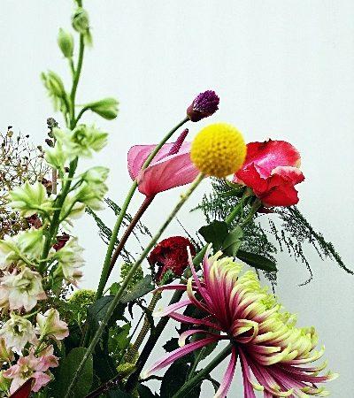 Plukboeket keuze van de bloemist