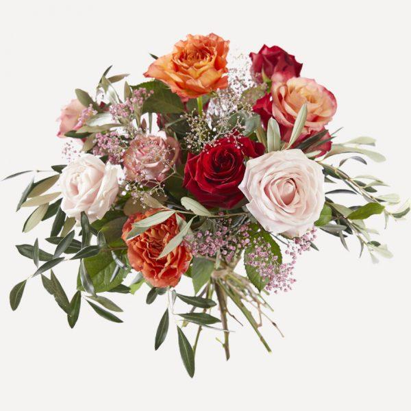 Boeket liefdevolle rozen