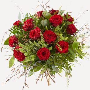 Boeket luxe rozen
